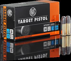 Cartouches .22LR RWS Target Pistol - site de l'armurerie TPC