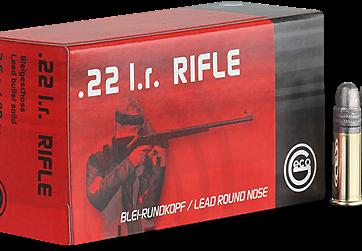 Cartouches .22LR GECO Rifle - site de l'armurerie TPC