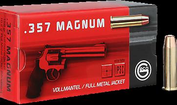 Cartouches .357 MAG GECO Blindée tête plate - site de l'armurerie TPC