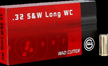 Cartouches .32 SWL WC GECO Wad Cutter - site de l'armurerie TPC