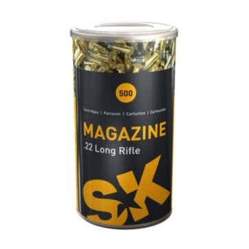Cartouches .22LR SK Magazine- Munitions site de l'armurerie TPC